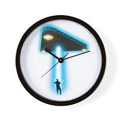 TR-3B Abduction Wall Clock