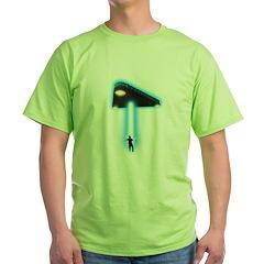 TR-3B Abduction Green T-Shirt