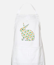 Carrot Calico Rabbit Apron