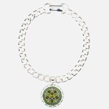 Celtic Earth Dragon Pentacle Bracelet