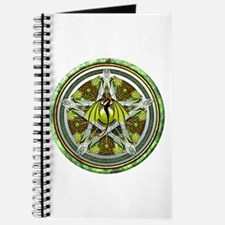 Celtic Earth Dragon Pentacle Journal
