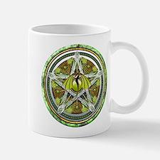 Celtic Earth Dragon Pentacle Mug
