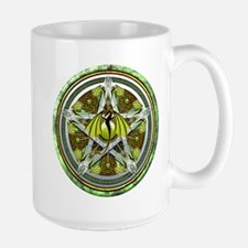 Celtic Earth Dragon Pentacle Mug