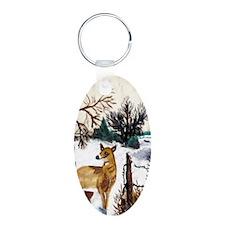 Deer Artwork Keychains