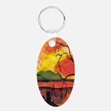 Dreaming The Day Artwork Keychains