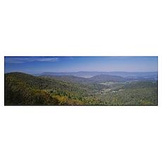 Shenandoah National Park VA Poster