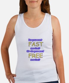 FastFree color Women's Tank Top