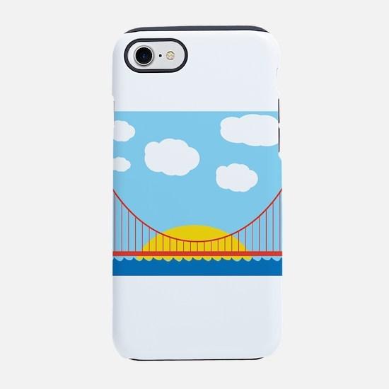 Bay Bridge iPhone 7 Tough Case