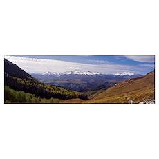 Wilson Mt Range CO Poster