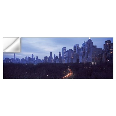 Central Park New York NY Wall Decal