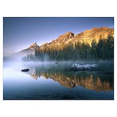 The Teton Range at String Lake Grand Teton Nationa Poster
