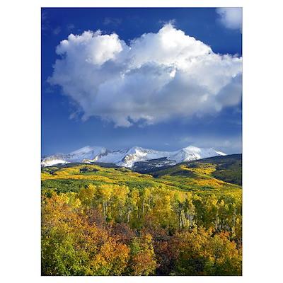 East Beckwith Mountain Colorado Poster