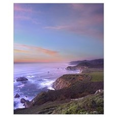 Bixby Bridge Big Sur California Canvas Art