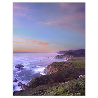 Bixby Bridge Big Sur California Poster