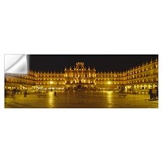 Plaza Mayor Castile and Leon Salamanca Spain Wall Decal
