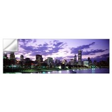 Lake Michigan Chicago IL Wall Decal