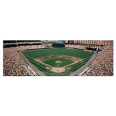 Camden Yards Baseball Field Baltimore MD Poster