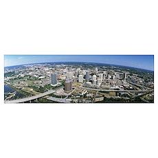 Aerial Richmond VA Poster