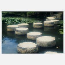 Stepping Stones Heian Jingu Kyoto Japan