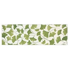Ginkgo Leaves Poster