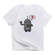 Cute love robot Infant T-Shirt