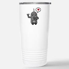 Cute love robot Travel Mug