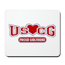 USCG Girlfriend Mousepad