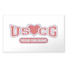 USCG Girlfriend Decal