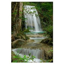 Seven Step Waterfall in monsoon forest, Erawan Nat