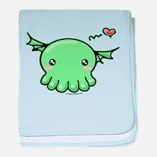 Sweethulhu cute Cthulhu baby blanket