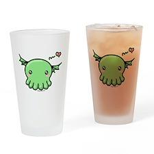 Sweethulhu cute Cthulhu Drinking Glass