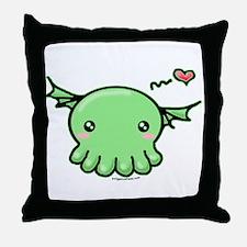 Sweethulhu cute Cthulhu Throw Pillow