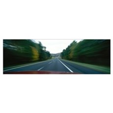 Route 91 in Motion VT Poster