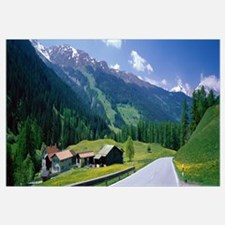 Highway Engadin Switzerland