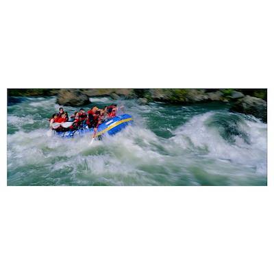 Whitewater Rafting Tieton River WA Poster