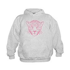 Pink Leopard. Hoodie