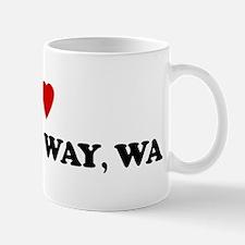 I Love Federal Way Mug