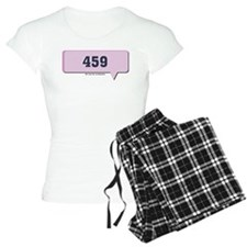 459 - ILU - I Love You Text M Pajamas