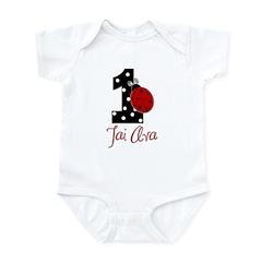 TAI AVA Ladybug 1st CUSTOM - Infant Bodysuit