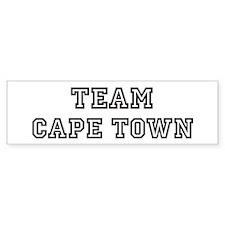 Team Cape Town Bumper Bumper Sticker