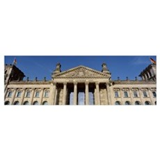 Germany, Berlin, Parliament Building Poster