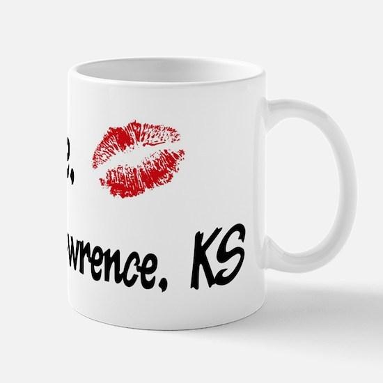 Kiss Me: Lawrence Mug
