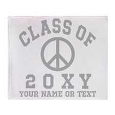 Class Of 2012 Peace Throw Blanket