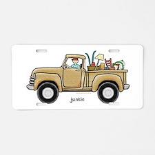 Junkie Aluminum License Plate