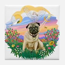 Guardian - Pug #6 Tile Coaster