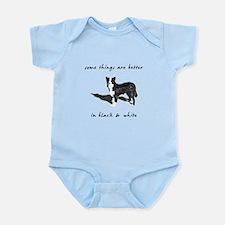 Border Collie Better Infant Bodysuit