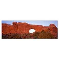 Tuppet Arch Arches National Park Moab UT Poster