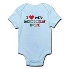 I Love Mexican Papi Infant Bodysuit
