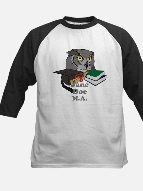 Custom Owl Graduate Tee