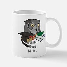 Custom Owl Graduate Mug